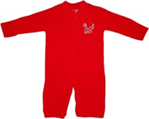 "Eastern Washington Eagles ""Convertible"" Gown (Snaps into Romper)"