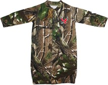 "Eastern Washington Eagles Realtree Camo ""Convertible"" Gown (Snaps into Romper)"