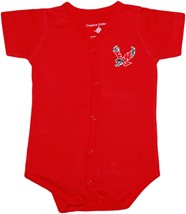 Eastern Washington Eagles Front Snap Newborn Bodysuit