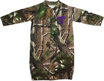 "Tarleton State Texans Realtree Camo ""Convertible"" Gown (Snaps into Romper)"