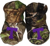 Tarleton State Texans Realtree Camo Baby Bootie