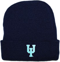 Upper Iowa Peacocks Newborn Baby Knit Cap