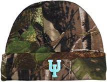 Upper Iowa Peacocks Newborn Realtree Camo Knit Cap