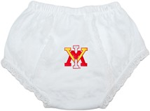 Virginia Military Institute Keydets Baby Eyelet Panty