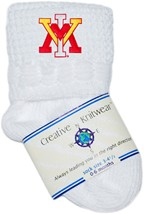 Virginia Military Institute Keydets Non-Kickoff Baby Newborn Bootie