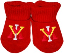 Virginia Military Institute Keydets Gift Box Baby Bootie