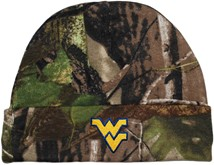 West Virginia Mountaineers Newborn Realtree Camo Knit Cap