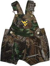 West Virginia Mountaineers Realtree Camo Short Leg Overall