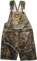 West Virginia Mountaineers Realtree Camo Long Leg Overall