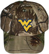 West Virginia Mountaineers Realtree Camo Baseball Cap
