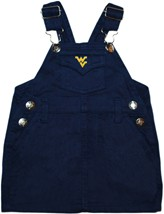 West Virginia Mountaineers Jumper Dress