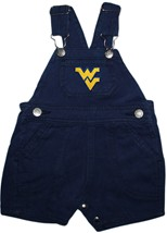 West Virginia Mountaineers Short Leg Overalls