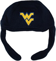West Virginia Mountaineers Chin Strap Beanie