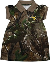 West Virginia Mountaineers Realtree Camo Polo Dress