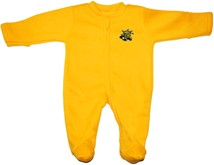 Wichita State Shockers Fleece Footed Romper