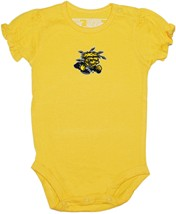 Wichita State Shockers Puff Sleeve Bodysuit