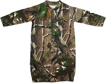 "Wichita State Shockers Realtree Camo ""Convertible"" Gown (Snaps into Romper)"
