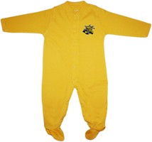 Wichita State Shockers Footed Romper