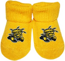 Wichita State Shockers Newborn Baby Bootie
