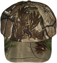 Wyoming Cowboys Realtree Camo Baseball Cap