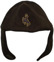 Wyoming Cowboys Chin Strap Beanie