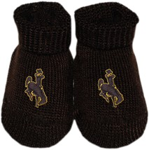Wyoming Cowboys Gift Box Baby Bootie