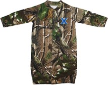 "Xavier Musketeers Realtree Camo ""Convertible"" Gown (Snaps into Romper)"