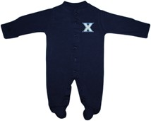 Xavier Musketeers Footed Romper