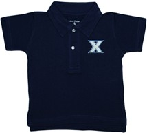 Xavier Musketeers Infant Toddler Polo Shirt
