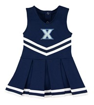 Xavier Musketeers Cheerleader Bodysuit Dress