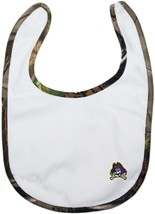 East Carolina Pirates Realtree Camo Newborn Bib