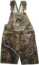 East Carolina Pirates Realtree Camo Long Leg Overall