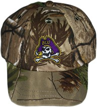 East Carolina Pirates Realtree Camo Baseball Cap