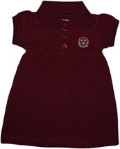Harvard Crimson Veritas Shield with Wreath & Banner Polo Dress w/Bloomer