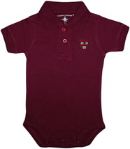 Harvard Crimson Veritas Shield Polo Bodysuit