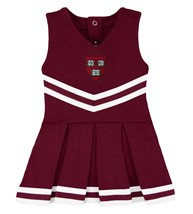 Harvard Crimson Veritas Shield Cheerleader Bodysuit Dress