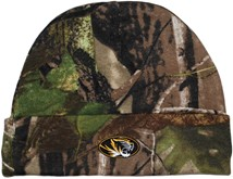 Missouri Tigers Newborn Realtree Camo Knit Cap