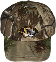 Missouri Tigers Realtree Camo Baseball Cap