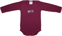 MIT Engineers Arched M.I.T. Long Sleeve Bodysuit