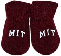 MIT Engineers Arched M.I.T. Gift Box Baby Bootie