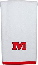 "Monmouth College Graphic ""M"" Burp Pad"