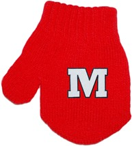 "Monmouth College Graphic ""M"" Acrylic/Spandex Mitten"