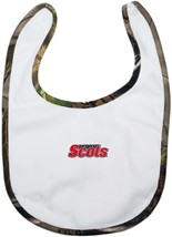 Monmouth College Fighting Scots Realtree Camo Newborn Bib