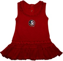 Florida State Seminoles Ruffled Tank Top Dress