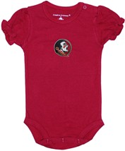 Florida State Seminoles Puff Sleeve Bodysuit