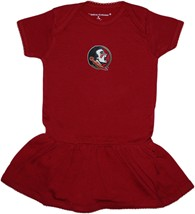 Florida State Seminoles Picot Bodysuit Dress