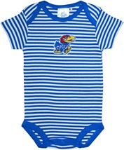 Kansas Jayhawks Infant Striped Bodysuit