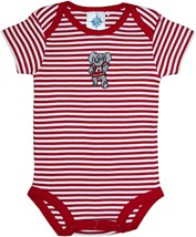 Alabama Big Al Newborn Infant Striped Bodysuit