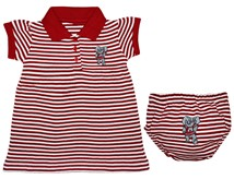 Alabama Big Al Striped Game Day Dress with Bloomer