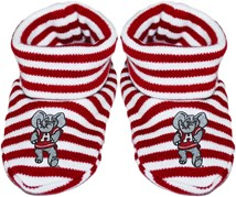 Alabama Big Al Striped Booties